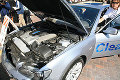 hydrogen powered BMW cars
