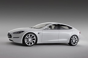tesla auto electric car