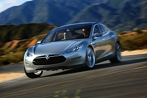tesla electric car auto